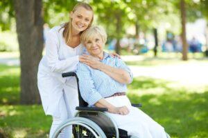 бабушка и медик