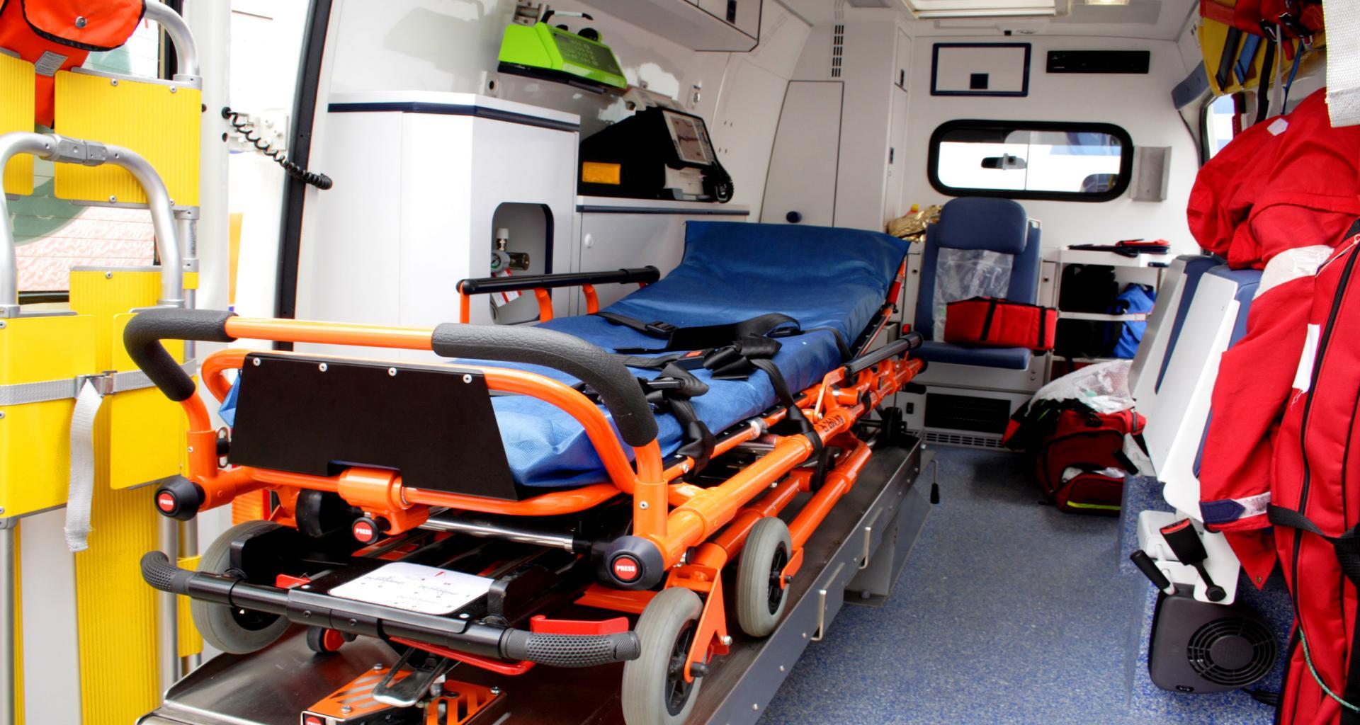 организация перевозки больного